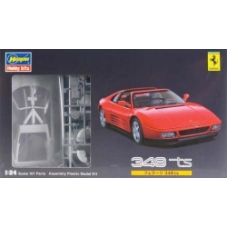 Ferrari 348 TS 1989 Red
