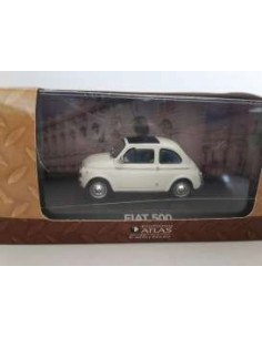 Fiat 500 Atlas Collection White