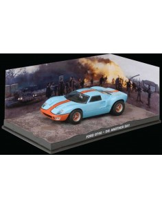 Ford GT40 James Bond Die Another Day Light Blue/Orange