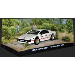 Lotus Esprit Turbo 1980 James Bond For your eyes only White/Red