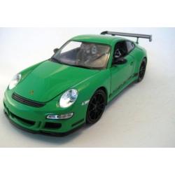 Porsche 911 997 Carrera GT3 RS 2007 Black/Green
