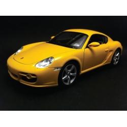 Porsche Cayman S 2005 Yellow