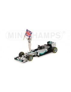 Mercedes GP W05 Nr.44 Winner GP Abu Dhabi 2014