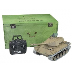 Walker Bulldog M41 with Metal Gears, Metal Chains 2.4GHz - RTR