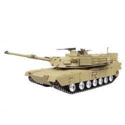 US M1A2 Abrams with Metal Gears and Metal Chains 2.4GHz - RTR