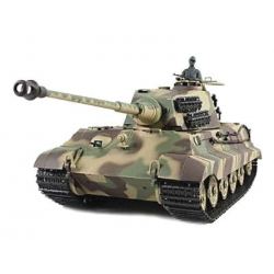 King Tiger Henschel Turret with Metal Gears 2.4GHz - RTR