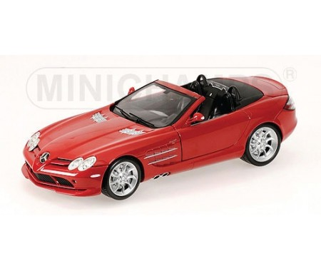 Mercedes-Benz SLR-Mclaren Roadster - 2007 - Red