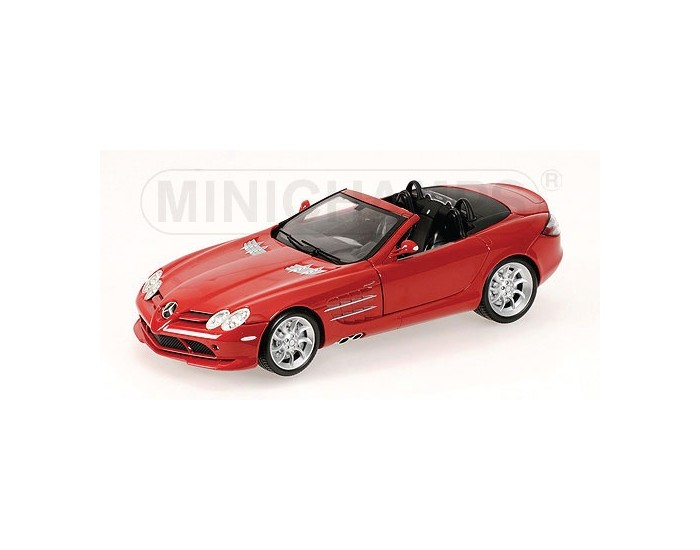Mercedes-Benz SLR-Mclaren Roadster - 2007 - Red