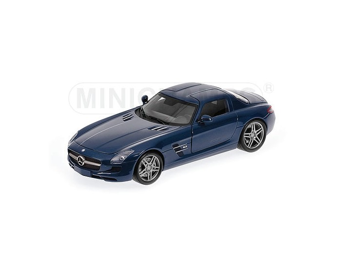 Mercedes-Benz SLS AMG - 2010 - Blue Metallic