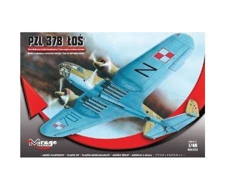 PZL 37B LOS Bomber