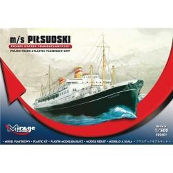 M/S Pilsudski Trans-Atlantic Passenger Ship