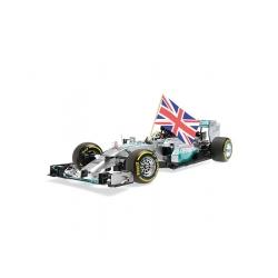 Mercedes F1 W05 F1 Abu Dhabi 2014 Lewis Hamilton