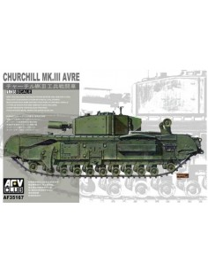 Churchill Mk.III AVRE (Armoured Vehicle Royal Engineers)