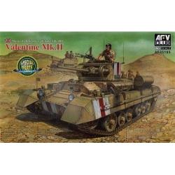 Valentine Mk.II British Infantary Tank - Special Parts Edition
