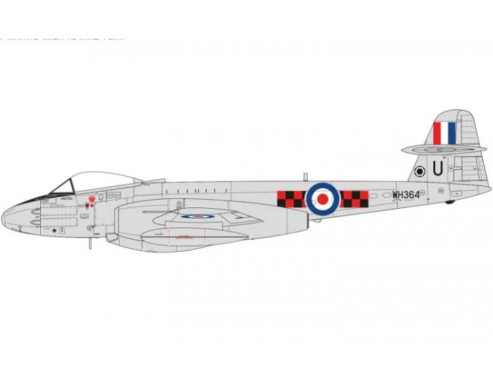 Airfix - A09182 - Gloster Meteor F8  - Hobby Sector