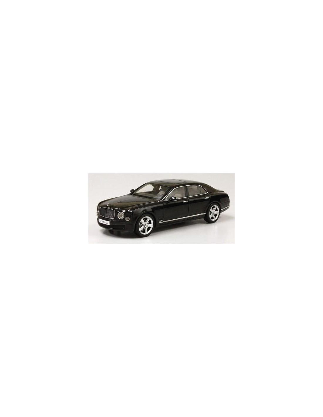 2012 Bentley Flying Spur W12 Diamond Black: Kyosho Bentley Mulsanne Speed 2014 Onyx Black