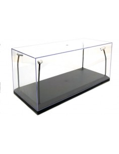 Triple 9 - T9-189910 - Showcase with Leds With Black Base for 1/18 Models  - Hobby Sector