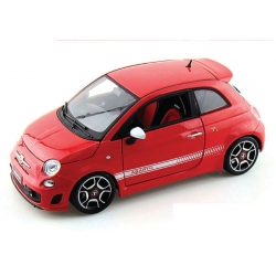 Fiat 500 Abarth 2008 Red