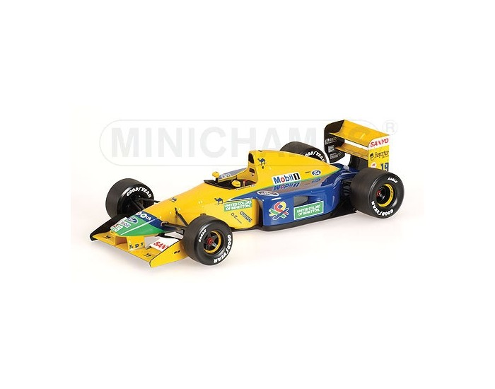 Benetton Ford B191B - Michael Schumacher - 1992 (Without Figurine)