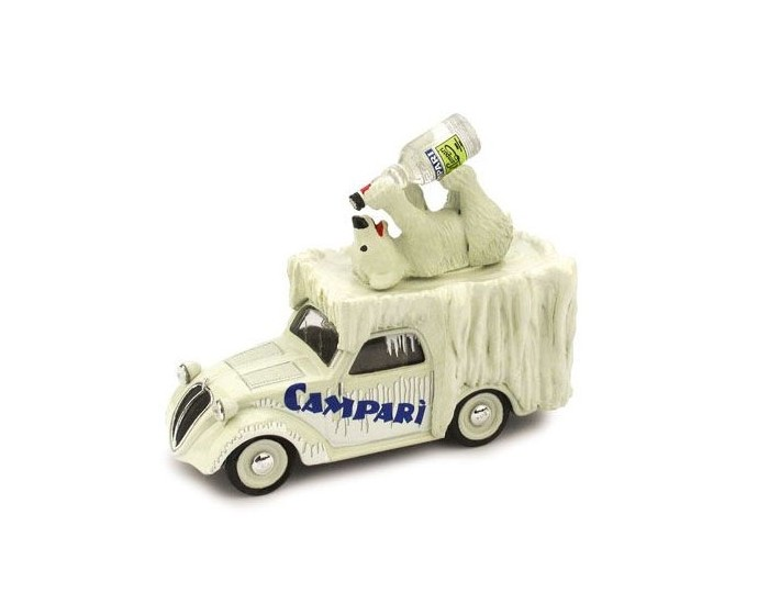 Fiat 500 Furgonc Orso Goloso Campari