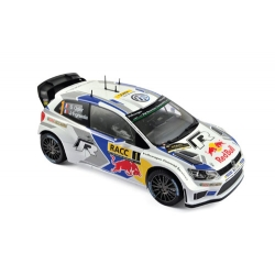 VW Polo R WRC Winner Rallye Spain 2014