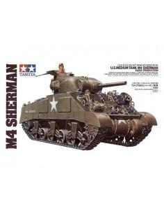Tamiya - 35190 - U.S Medium Tank M4 Sherman  - Hobby Sector