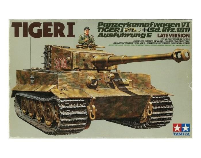 Tamiya - 35146 - German Heavy Tank Tiger I  - Hobby Sector