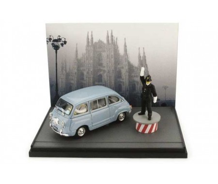 Fiat 600D Multipla 1960 Duomo Mil