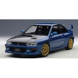 Subaru Impreza 22B-STi Version 1998 Blue w/ Carbon Fibre Bonnet