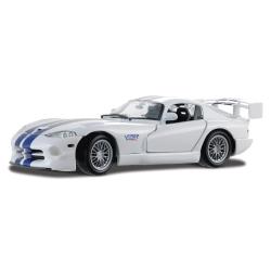 Dodge Viper GTR-S 2001 White w/ Blue Stripes