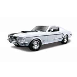 Ford Mustang GT Cobra Jet 1968 White
