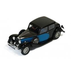 Bugatti 57 Galibier 1935 Black and Blue