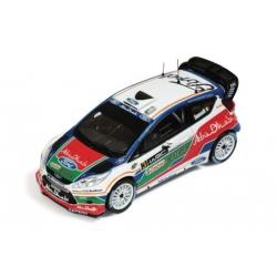 Ford Fiesta RS WRC Nr.3 Simoncelli Test Kirkbride Airfield 2011