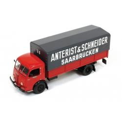 Panhard Movic Anterist & Schneider Saarbrücken 1952 Red