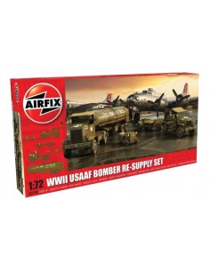 Airfix - A06304 - WWII USAAF 8th Air Force Bomber Resupply Set  - Hobby Sector