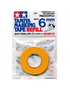 Tamiya - 87033 - Masking Tape 6mm Width  - Hobby Sector