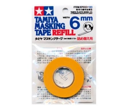 Tamiya - 87033 - Máscara em Fita - 6mm Largura  - Hobby Sector