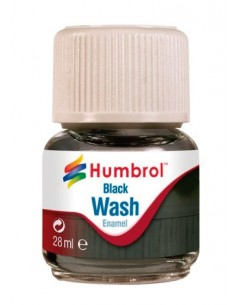 Enamel Wash Black - 28ml