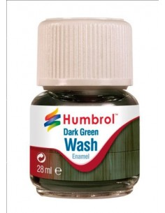 Enamel Wash Dark Green - 28ml