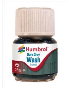 Enamel Wash Dark Grey - 28ml