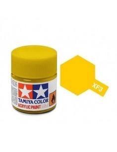 Tamiya - XF-3 - XF-3 Flat Yellow - 10ml Acrylic Paint  - Hobby Sector