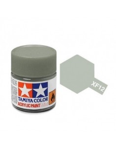 Tamiya - XF-12 - XF-12 J.N, Grey - 10ml Acrylic Paint  - Hobby Sector