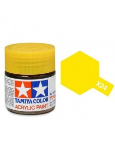 X-24 Clear Yellow - 10ml Tinta Acrílica
