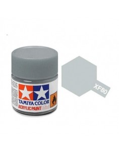 Tamiya - XF-80 - XF-80 Royal Light Gray - 10ml Acrylic Paint  - Hobby Sector
