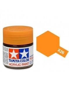 X-26 Clear Orange - 10ml Acrylic Paint