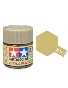 X-31 Titanium Gold - 10ml Acrylic Paint