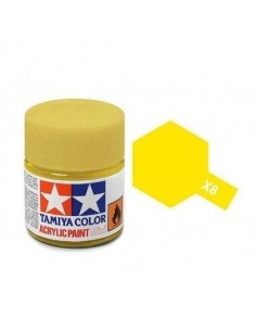 X-8 Lemon Yellow - 10ml Acrylic Paint
