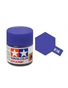 Tamiya - X-16 - X-16 Purple - 10ml Acrylic Paint  - Hobby Sector