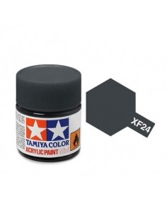 Tamiya - XF-24 - XF-24 Dark Grey - 10ml Acrylic Paint  - Hobby Sector