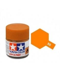 Tamiya - X-6 - X-6 Orange - 10ml Tinta Acrílica  - Hobby Sector